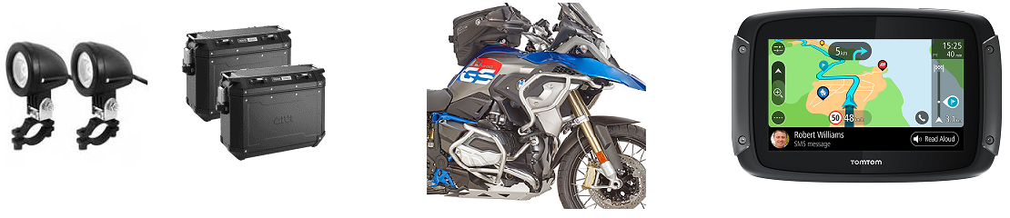 Les accessoires indispensables pour votre moto